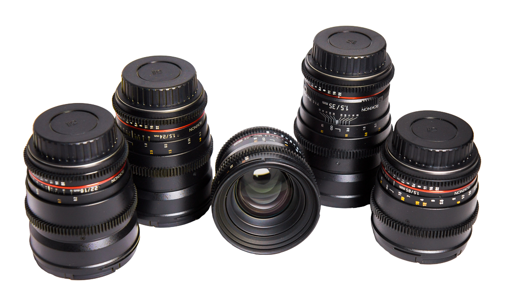 Location Canon EF Blackmagic 4K