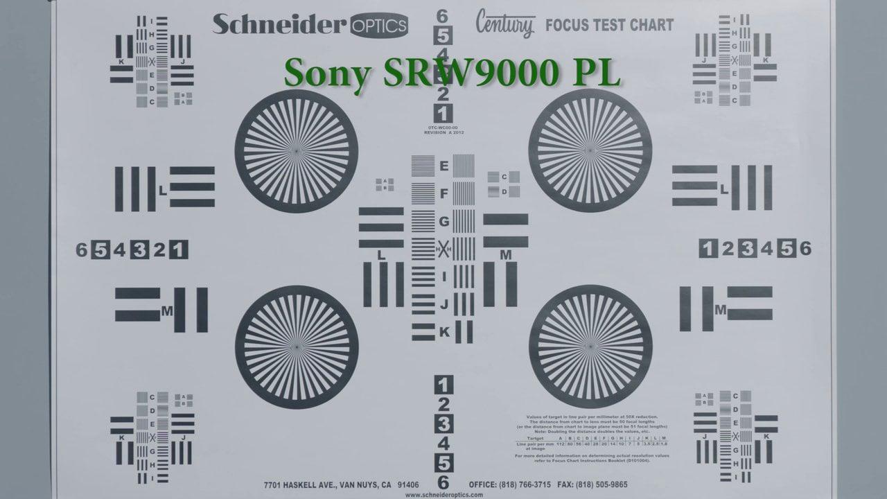 Comparative Test between Sony SRW-9000PL and ARRI Alexa