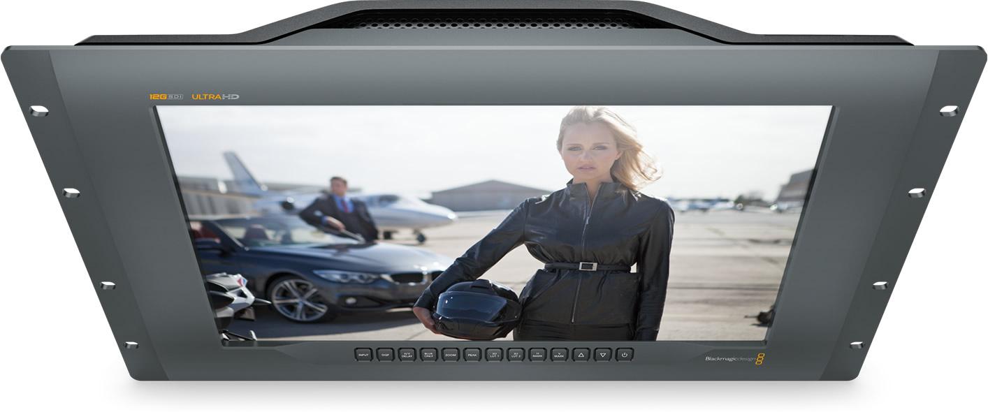 Maintenant disponible, moniteur Blackmagic Design 4K SmartView