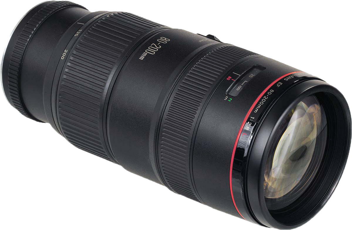 Zoom Canon 80 – 200 mm EF T2.8